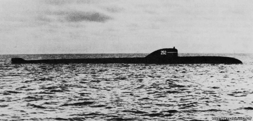 Первая атомная подводная лодка