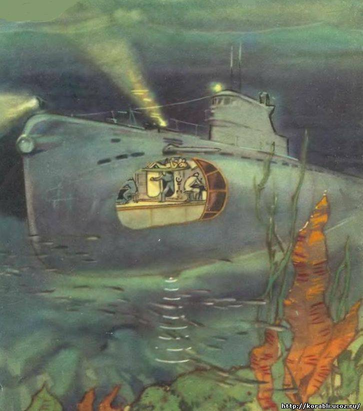 предельная глубина российских подводных лодок