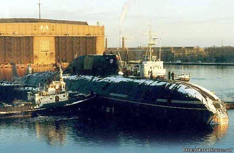 Подводная лодка гепард 971 проекта
