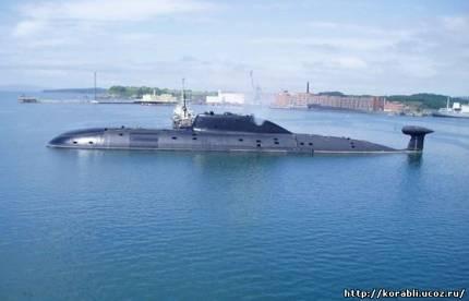Гвардейская многоцелевая атомная подводная лодка «Гепард» 971 проекта