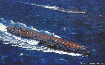 Картины боевых кораблей Императорского японского флота