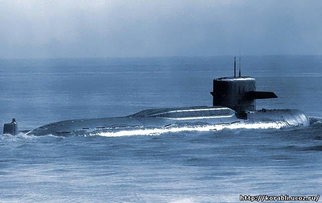 Атомная подводная лодка проекта 667м