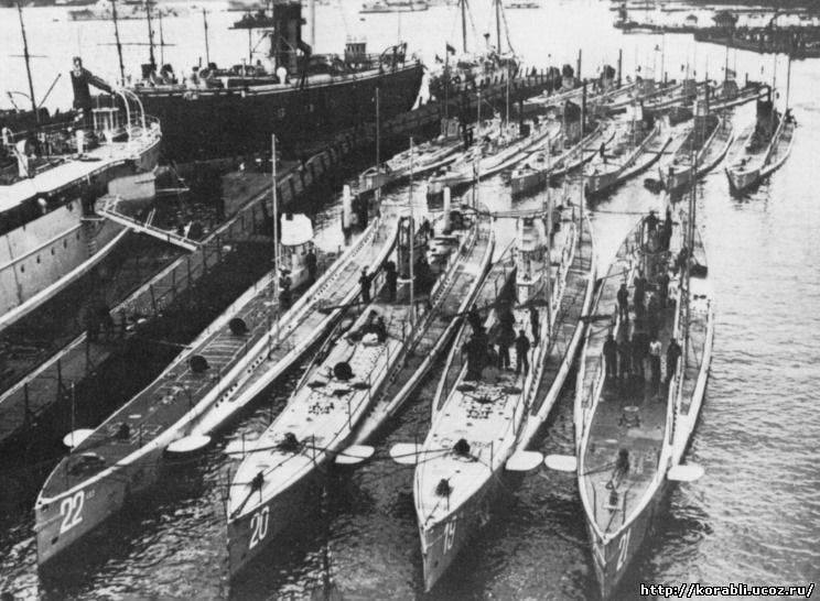 подводные лодки второго рейха