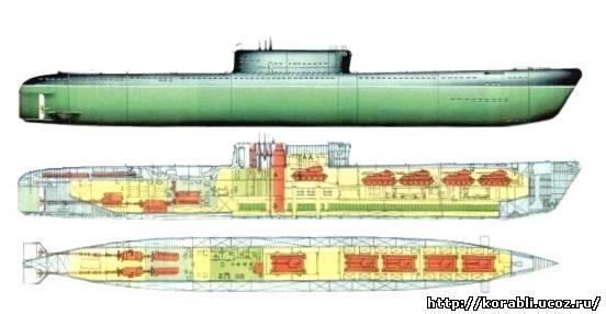 лодка проекта 717