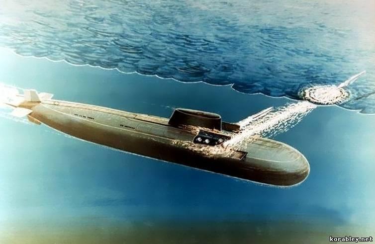 Атомные подводные лодки проекта 949 949а
