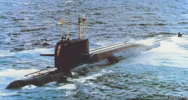 подводная лодка 664