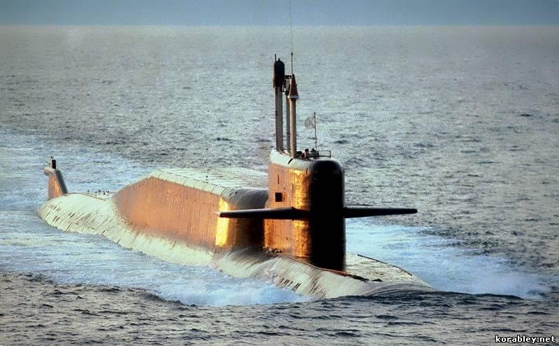 Атомные подводные лодки проекта 667