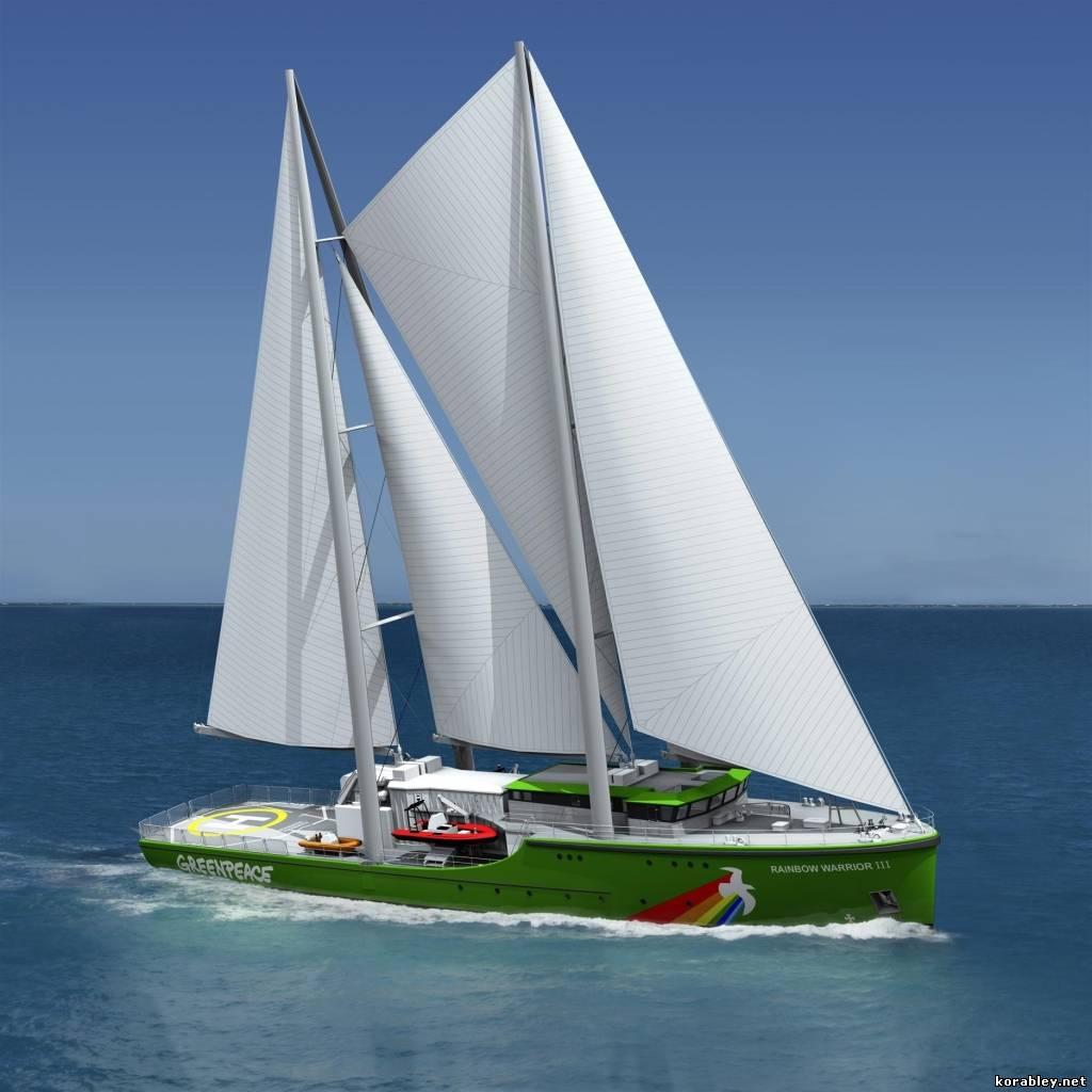 Rainbow Warrior I Ii Y Iii Greenpeace: Парусное судно «Rainbow Warrior III» для организации