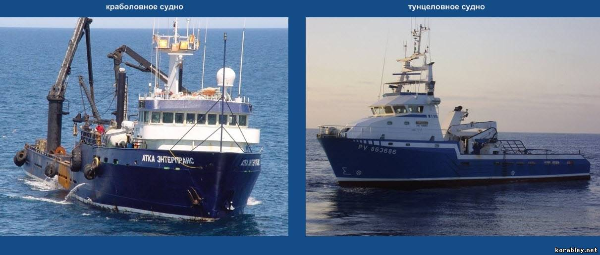 продажа аренда рыболовных судов