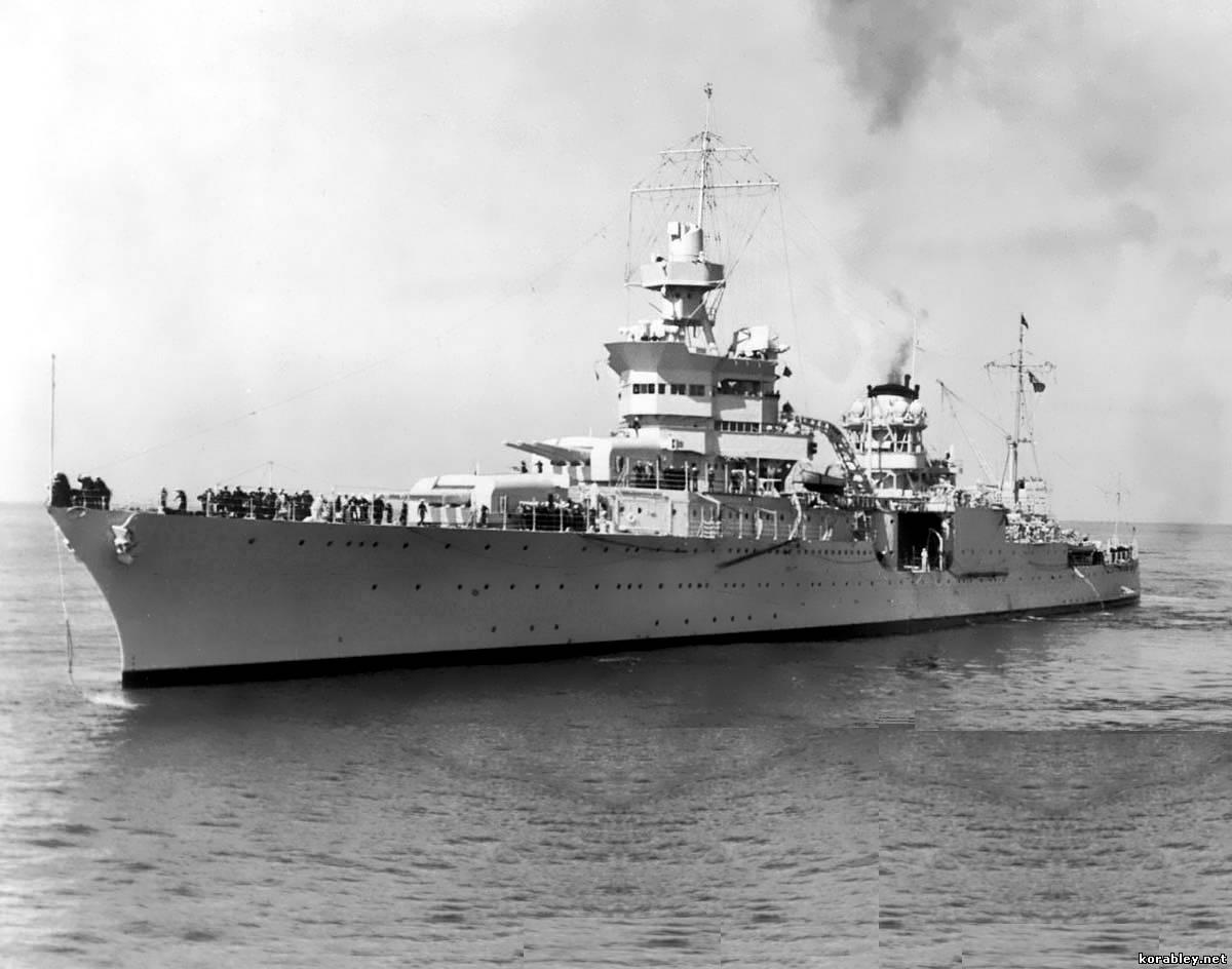 В Тихом океане обнаружили легендарный крейсер Индианаполис