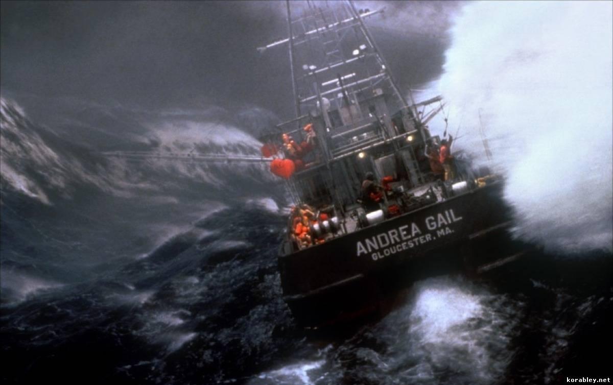 Корабли шторм на море фото